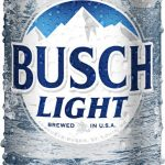 New Busch Light Can