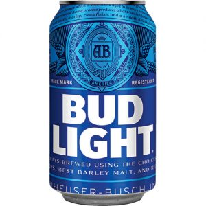 Bud Light Can beer