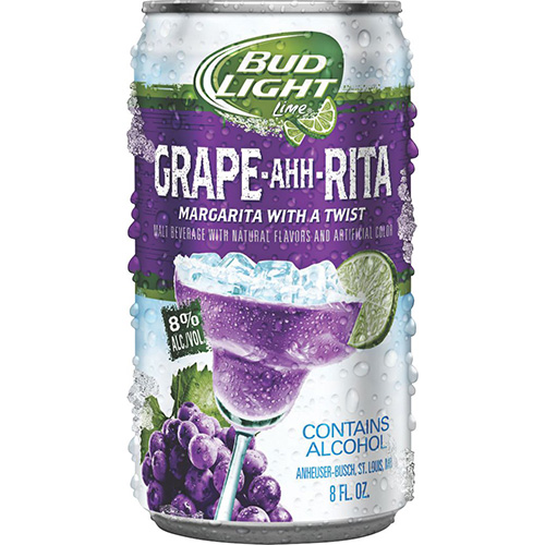 Bud Light Grape ahh Rita beer