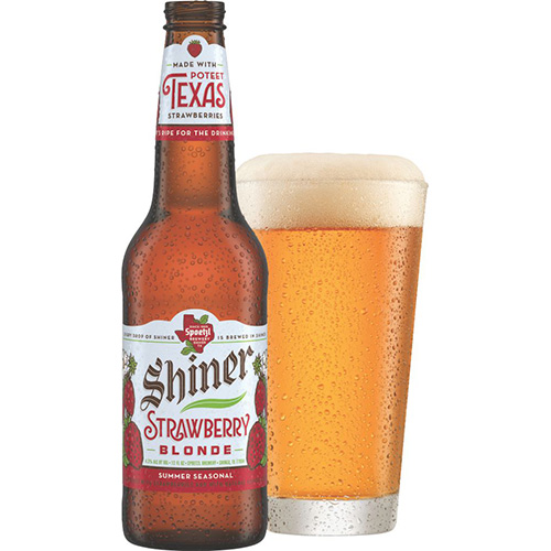 Shiner Strawberry Blonde Beer