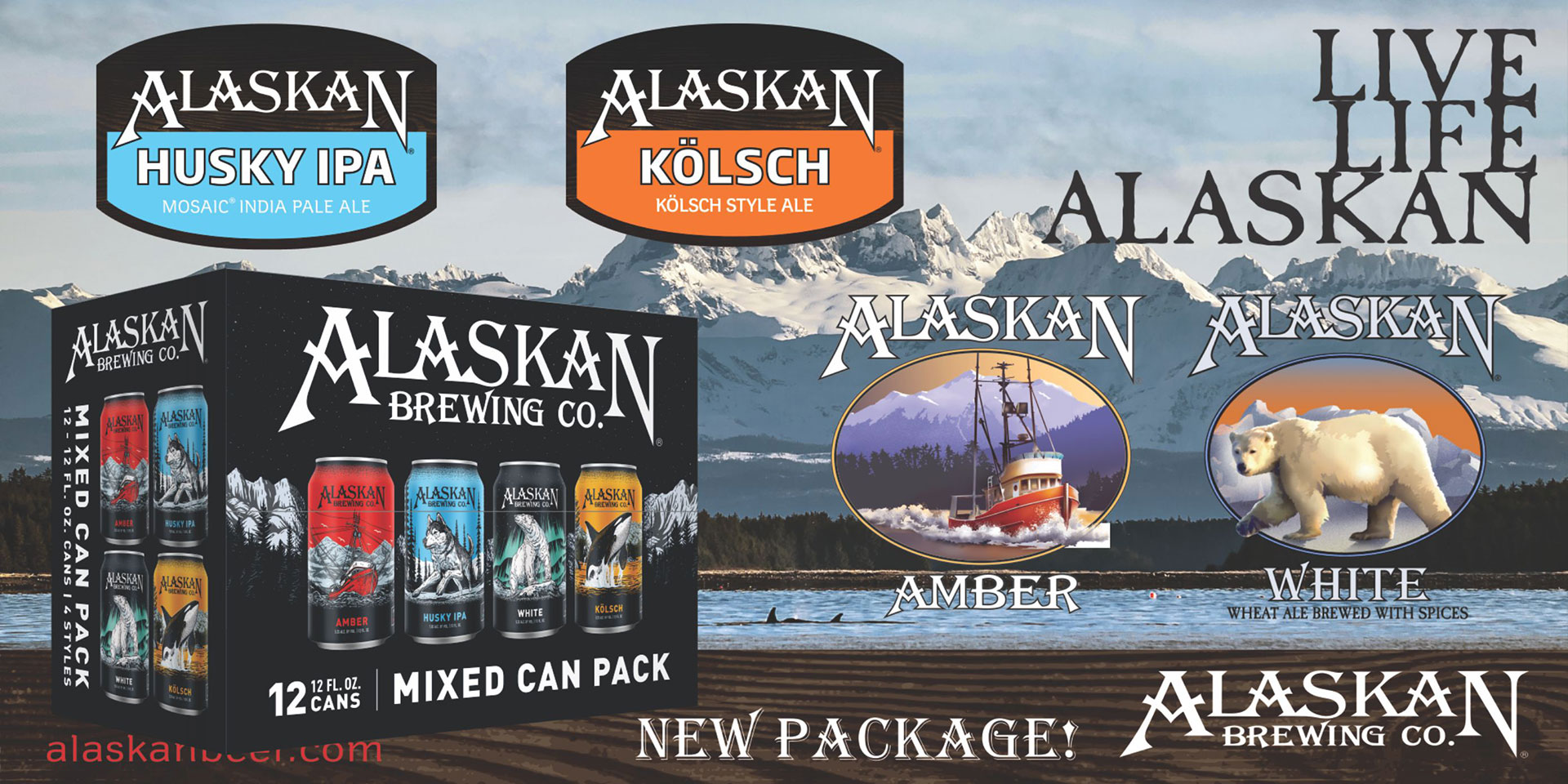 Alaskan Mixed Cans