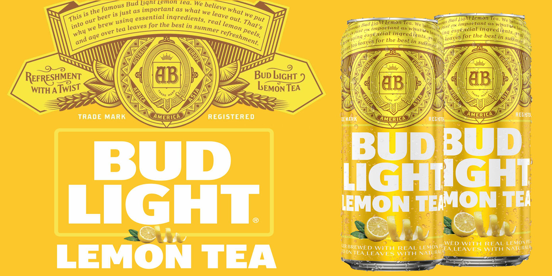 Bud Lt Lemon Tea