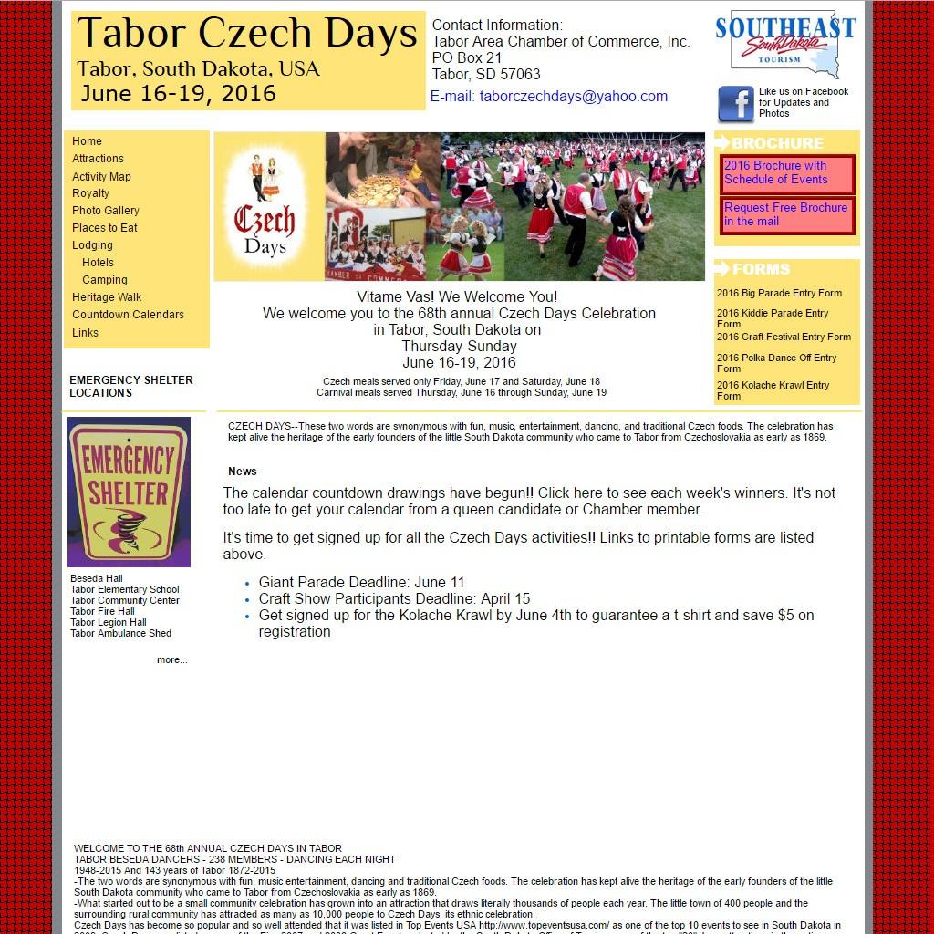 Tabor Czech Days 2016