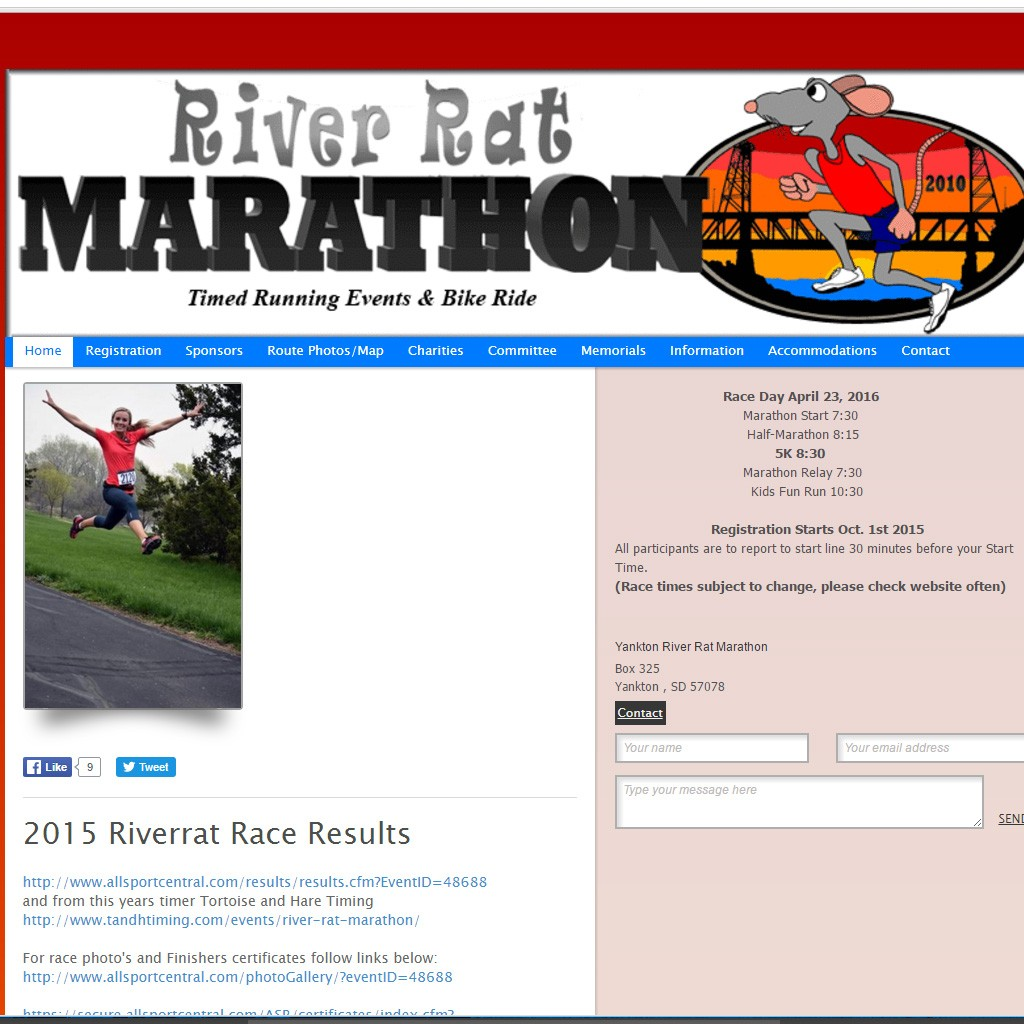 River Rat Marathon
