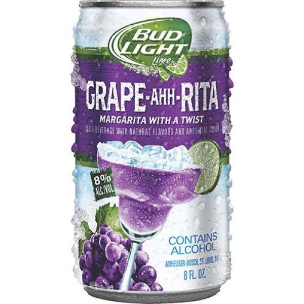 Bud Light Grape ahh Rita beer